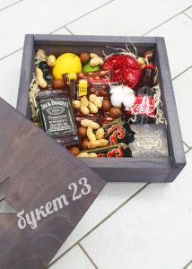 Мужской ящик с виски